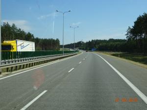 Polen Autobahn