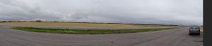 das Feld ist ca 2,5 km lang !